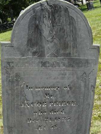 PEIRCE, JACOB - Middlesex County, Massachusetts | JACOB PEIRCE - Massachusetts Gravestone Photos