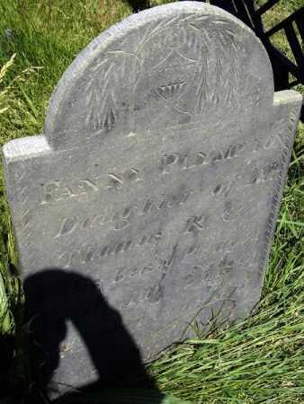 PLYMPTON, FANNY - Middlesex County, Massachusetts   FANNY PLYMPTON - Massachusetts Gravestone Photos