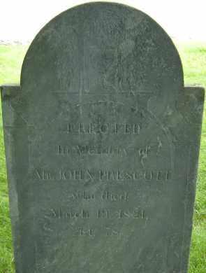 PRESCOTT, JOHN - Middlesex County, Massachusetts | JOHN PRESCOTT - Massachusetts Gravestone Photos
