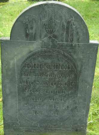 PRESCOTT, SAMUEL P - Middlesex County, Massachusetts   SAMUEL P PRESCOTT - Massachusetts Gravestone Photos