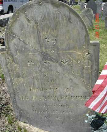 PUFFER, DANIEL - Middlesex County, Massachusetts | DANIEL PUFFER - Massachusetts Gravestone Photos