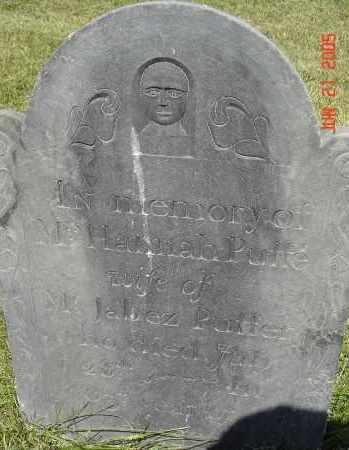 PUFFER, HANNAH - Middlesex County, Massachusetts | HANNAH PUFFER - Massachusetts Gravestone Photos