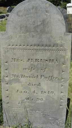 PUFFER, JERUSHA - Middlesex County, Massachusetts | JERUSHA PUFFER - Massachusetts Gravestone Photos