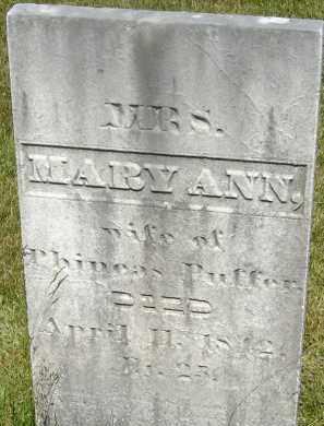 NOYES, MARY ANN - Middlesex County, Massachusetts | MARY ANN NOYES - Massachusetts Gravestone Photos