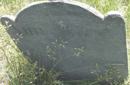 RICE, ANN - Middlesex County, Massachusetts | ANN RICE - Massachusetts Gravestone Photos