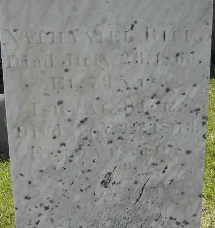 RICE, ISRAEL - Middlesex County, Massachusetts | ISRAEL RICE - Massachusetts Gravestone Photos