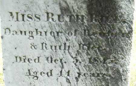 RICE, RUTH - Middlesex County, Massachusetts | RUTH RICE - Massachusetts Gravestone Photos