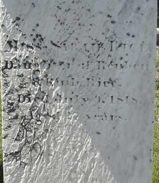 RICE, SARAH - Middlesex County, Massachusetts   SARAH RICE - Massachusetts Gravestone Photos