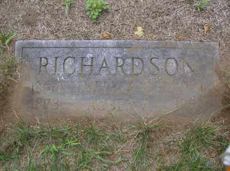 RICHARDSON, AGNES - Middlesex County, Massachusetts | AGNES RICHARDSON - Massachusetts Gravestone Photos