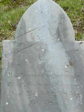 SEAVERNS, ELIZABETH - Middlesex County, Massachusetts | ELIZABETH SEAVERNS - Massachusetts Gravestone Photos