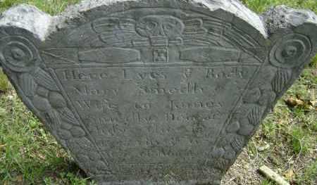 BARRETT, MARY - Middlesex County, Massachusetts | MARY BARRETT - Massachusetts Gravestone Photos