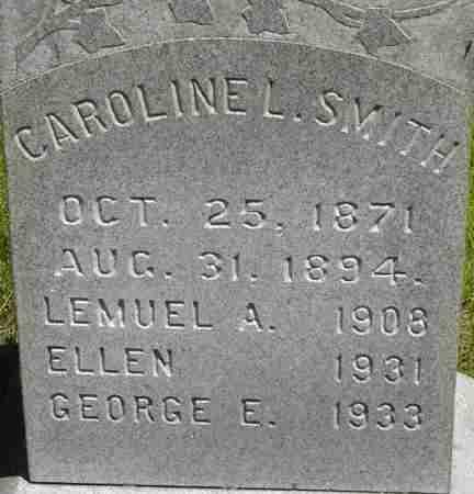 SMITH, ELLEN - Middlesex County, Massachusetts | ELLEN SMITH - Massachusetts Gravestone Photos