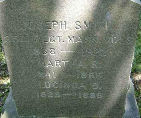 SMITH, LUCINDA B - Middlesex County, Massachusetts | LUCINDA B SMITH - Massachusetts Gravestone Photos