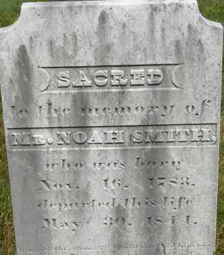 SMITH, NOAH - Middlesex County, Massachusetts | NOAH SMITH - Massachusetts Gravestone Photos