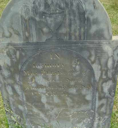 SMITH, PERSIS - Middlesex County, Massachusetts | PERSIS SMITH - Massachusetts Gravestone Photos