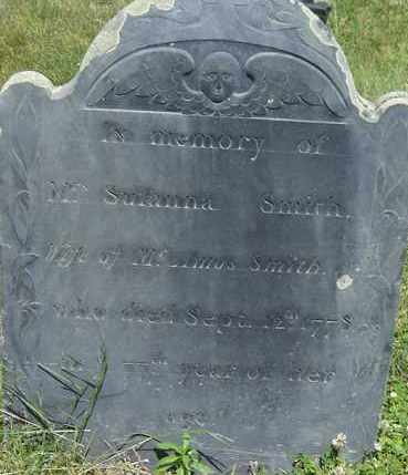 SMITH, SUSANNA - Middlesex County, Massachusetts | SUSANNA SMITH - Massachusetts Gravestone Photos