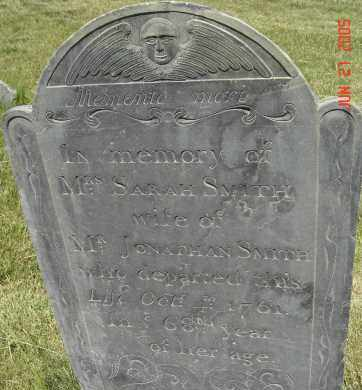 SMITH, SARAH - Middlesex County, Massachusetts | SARAH SMITH - Massachusetts Gravestone Photos