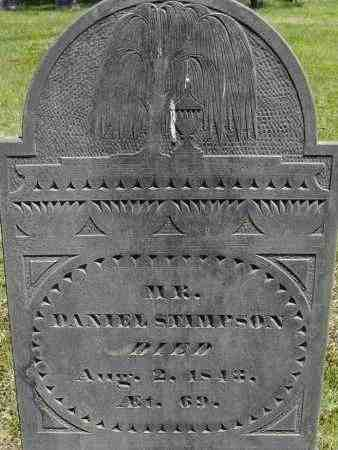 STIMPSON, DANIEL - Middlesex County, Massachusetts | DANIEL STIMPSON - Massachusetts Gravestone Photos