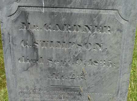 STIMPSON, GARDNER G - Middlesex County, Massachusetts | GARDNER G STIMPSON - Massachusetts Gravestone Photos