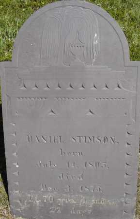 STIMSON, DANIEL - Middlesex County, Massachusetts | DANIEL STIMSON - Massachusetts Gravestone Photos