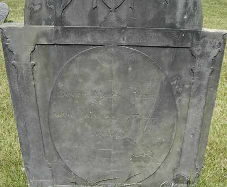TAFTS, MOSES - Middlesex County, Massachusetts | MOSES TAFTS - Massachusetts Gravestone Photos