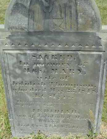 GOODNOW, MARY - Middlesex County, Massachusetts | MARY GOODNOW - Massachusetts Gravestone Photos