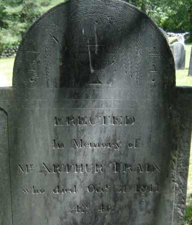 TRAIN, ARTHUR - Middlesex County, Massachusetts | ARTHUR TRAIN - Massachusetts Gravestone Photos