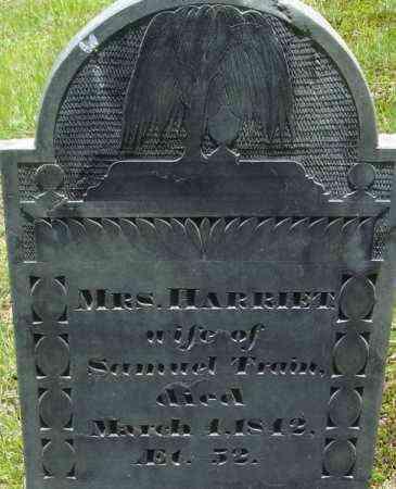 TRAIN, HARRIET - Middlesex County, Massachusetts | HARRIET TRAIN - Massachusetts Gravestone Photos