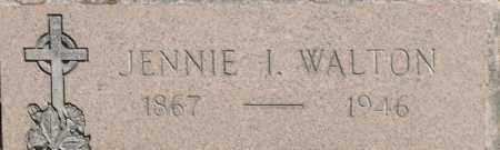 WALTON, JENNIE I - Middlesex County, Massachusetts   JENNIE I WALTON - Massachusetts Gravestone Photos