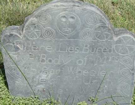 WHEELER, ABIGAIL - Middlesex County, Massachusetts | ABIGAIL WHEELER - Massachusetts Gravestone Photos