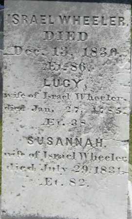 WHEELER, SUSANNAH - Middlesex County, Massachusetts | SUSANNAH WHEELER - Massachusetts Gravestone Photos
