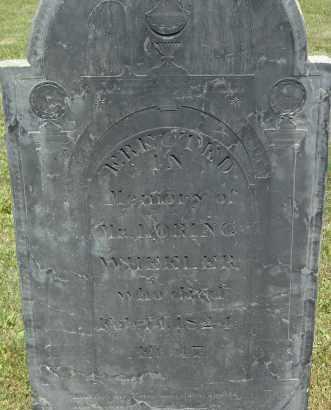 WHEELER, LORING - Middlesex County, Massachusetts | LORING WHEELER - Massachusetts Gravestone Photos