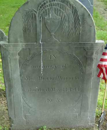WHEELER, PETER - Middlesex County, Massachusetts | PETER WHEELER - Massachusetts Gravestone Photos