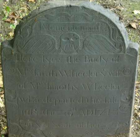 WHEELER, SARAH - Middlesex County, Massachusetts   SARAH WHEELER - Massachusetts Gravestone Photos