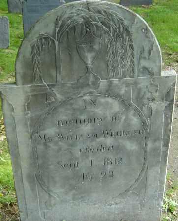 WHEELER, WILLIAM - Middlesex County, Massachusetts | WILLIAM WHEELER - Massachusetts Gravestone Photos