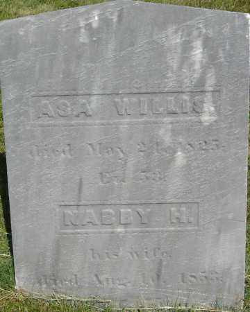 WILLIS, ABIGAIL (NABBY) - Middlesex County, Massachusetts | ABIGAIL (NABBY) WILLIS - Massachusetts Gravestone Photos
