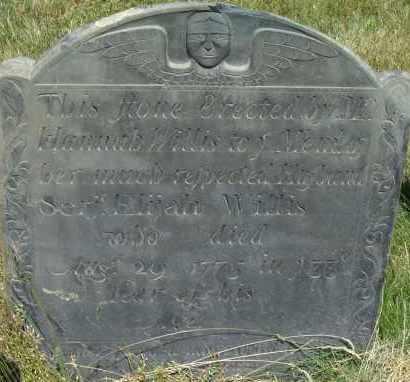 WILLIS (RW), ELIJAH - Middlesex County, Massachusetts | ELIJAH WILLIS (RW) - Massachusetts Gravestone Photos