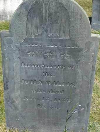 WILLIS, JOHN - Middlesex County, Massachusetts | JOHN WILLIS - Massachusetts Gravestone Photos