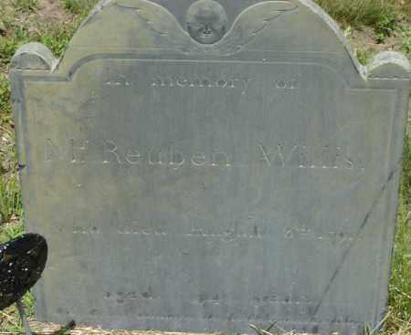 WILLIS, REUBEN - Middlesex County, Massachusetts | REUBEN WILLIS - Massachusetts Gravestone Photos