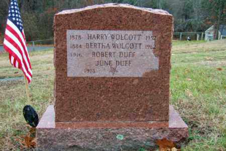 WOLCOTT, BERTHA - Middlesex County, Massachusetts | BERTHA WOLCOTT - Massachusetts Gravestone Photos