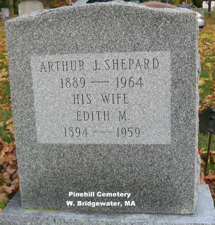 BURKE SHEPARD, EDITH - Plymouth County, Massachusetts | EDITH BURKE SHEPARD - Massachusetts Gravestone Photos