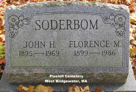 SODERBOM, FLORENCE - Plymouth County, Massachusetts | FLORENCE SODERBOM - Massachusetts Gravestone Photos