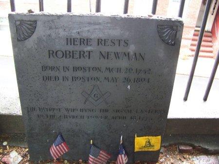 NEWMAN, ROBERT - Suffolk County, Massachusetts   ROBERT NEWMAN - Massachusetts Gravestone Photos
