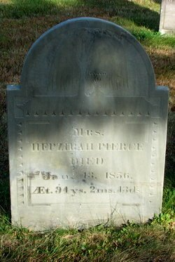 SMITH PIERCE, HEPZIBAH - Worcester County, Massachusetts   HEPZIBAH SMITH PIERCE - Massachusetts Gravestone Photos
