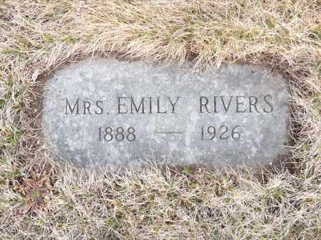 RIVERS, EMILY - Worcester County, Massachusetts | EMILY RIVERS - Massachusetts Gravestone Photos